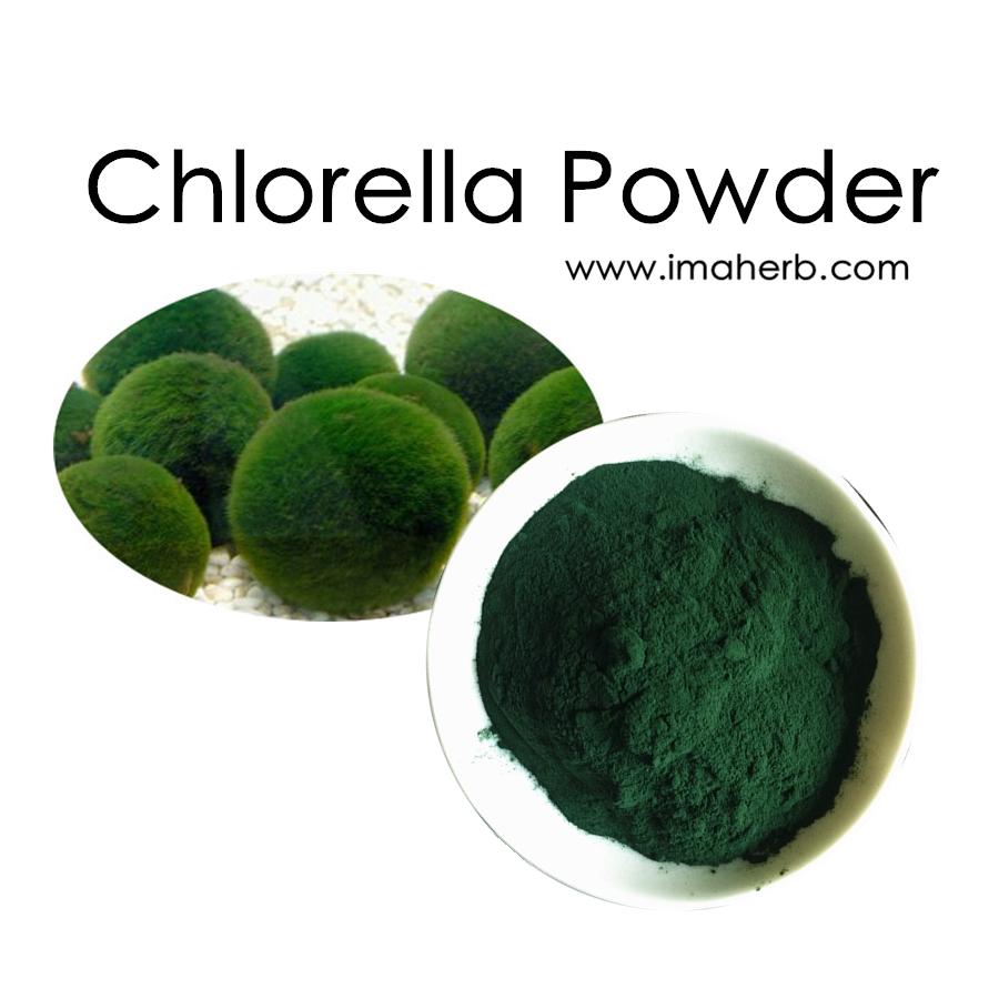 gebruik chlorella poeder