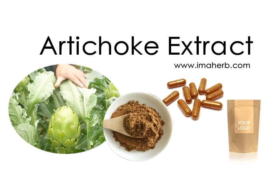 IMAHERB OEM Organic Herb Extract Artichoke Extract 5% Cynarin Globe Artichoke Leaf Extract Powder