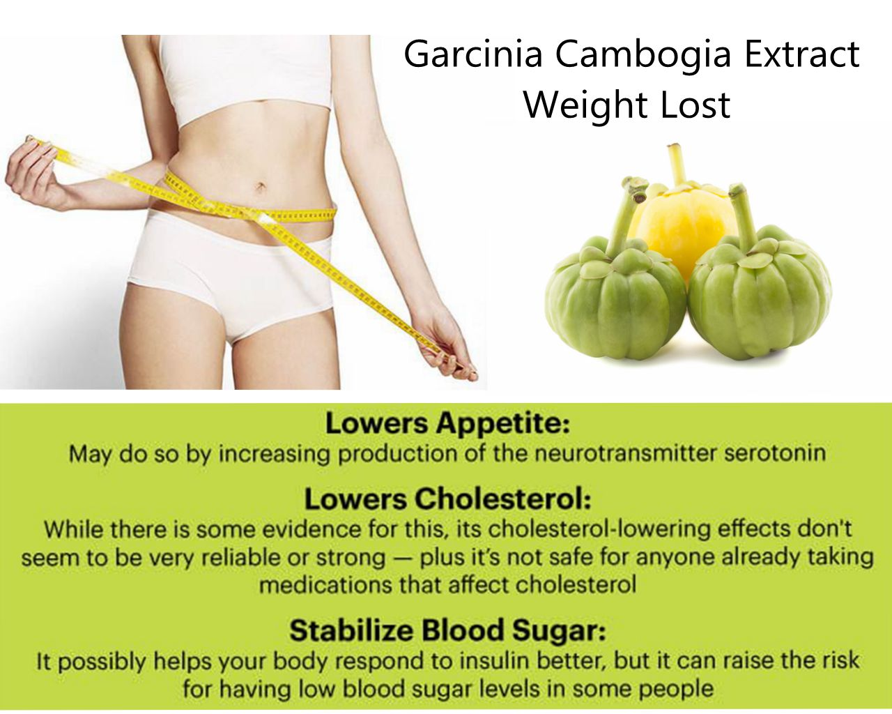 Garcinia Cambogia: Is a good herbal extract for weight lost