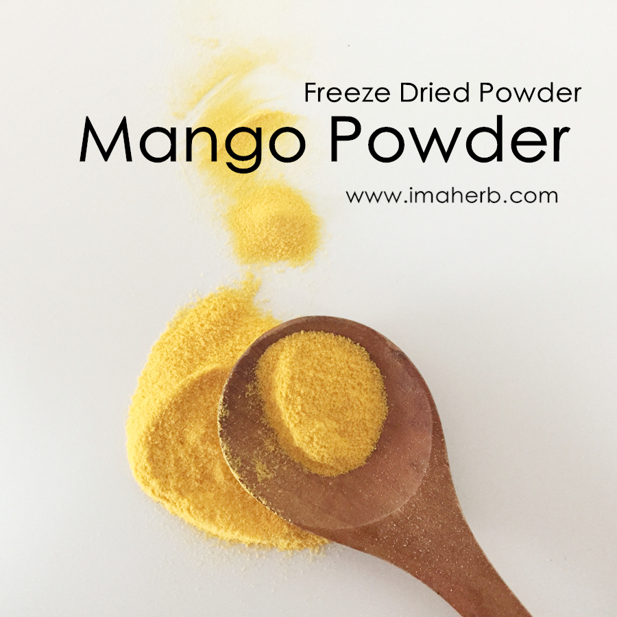IMAHERB Sell OEM 100% Natural Pure Freeze Dried Mango Powder for Dietary Supplyment