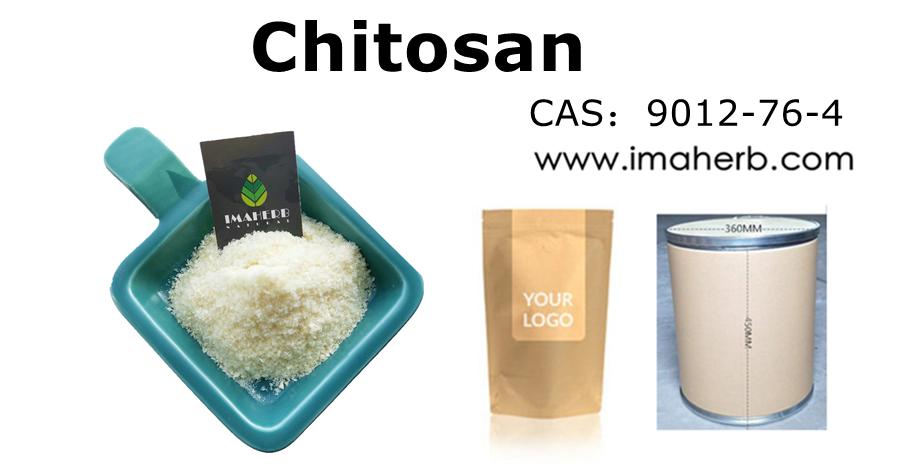 Polvo de agricultura de oligosacárido de quitosano soluble en agua natural a granel IMAHERB Nano quitosano PCA Chitina en polvo