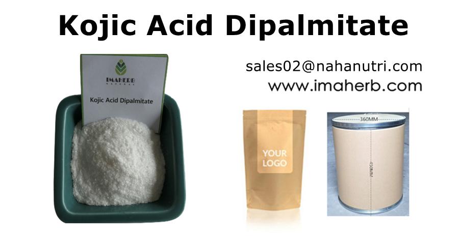 Producto de belleza IMAHERB, polvo para blanquear la piel, cosméticos, materias primas, polvo de dipalmitato de ácido kójico, polvo KAD