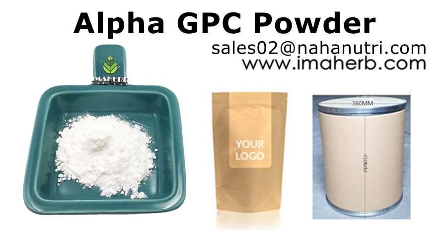 IMAHER Suppy Bulk Choline Glycerophosphate Alpha GPC 50% 99% Polvo